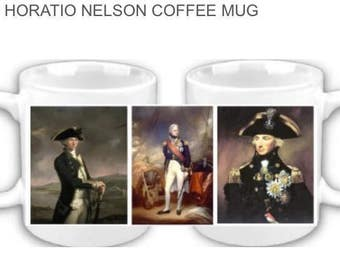 Lord Horatio Nelson coffee mug