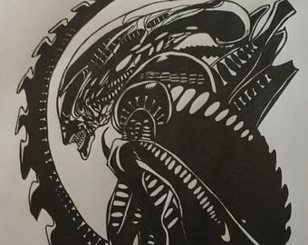 Alien, Xenomorph illustration