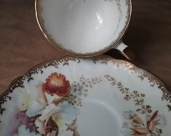Aynsley England Bone China teacup and saucer