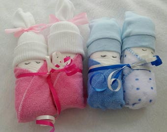 Sleeping Nappy Socks Scratch Mittens Baby Wash Cloth