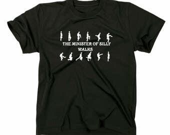 No. 2 Monty Python-Ministry of silly walks shirt