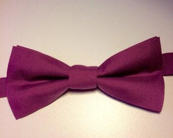 Noeud Papillon / Adulte / Coton / Accessoires/ Violet / Prêt à porter