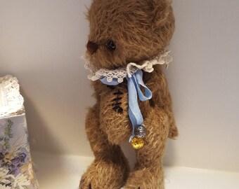 Teddy bear Nik. 100% handmade. Unique.