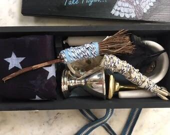 Owl Travel Altar - 'Take Flight' Pagan, Wiccan, Witch Altar