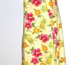 Tie Top Sarong Wrap Dress