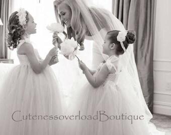 Blush Flower Girl Dress-Blush flower Girl dress-Blush girl dress-Blush pink flower girl dress-Ivory flower girl dress