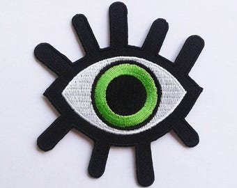 Demon green eye patch.