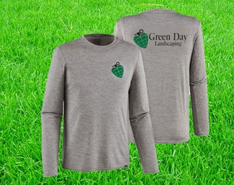 Landscaping Company shirts Gardener tshirts Personalized Gift Custom Screen Printing Cheap Gardening tees Landscaping Business Staff tees
