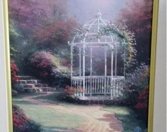 PRICED TO SELL!! Thomas Kinkade Art ~ Lilac Gazebo