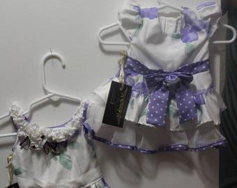 Sunday Purple Puppy Dress