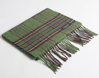 Leaf Royal Stewart Lambswool Scarf