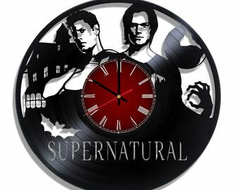 Supernatural Clock on the wall, wall poster
