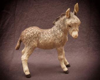 Cybis Fitzgerald Figurine Donkey Burro