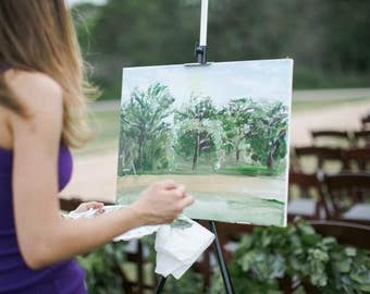 Live Wedding/Event Painting
