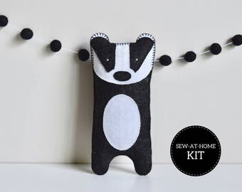 Badger Softie | Sew-at-Home Kit