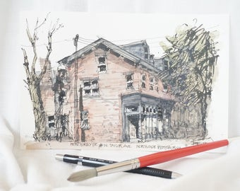 North Side Resident Home - Pittsburgh (Print)