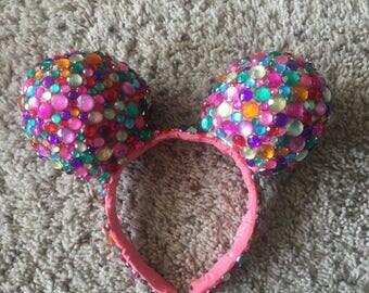 Rainbow Sparkle Mickey Mouse Ears