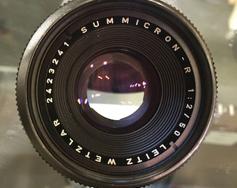 LEICA SUMMICRON-R 50mm F/2 (R-mount)