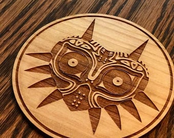 Game Theme Wooden Coasters