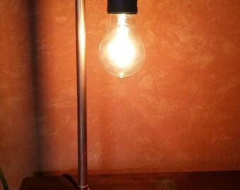 Copper tube lamp - unique
