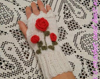 SALE Two pairs of arm warmers in your choice for price 20 dollars Knit fingerless gloves,arm warmers,knit mittens