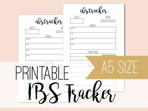 IBS Tracker Pages
