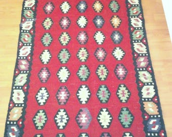 Sharkoy kilim runner (170x73 cm.)Hand-woven and Free shipping worldwide !