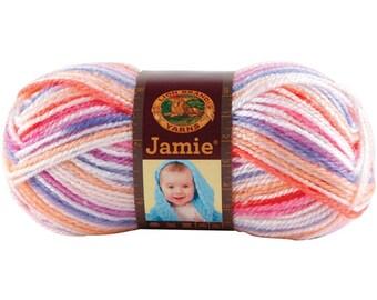3-Pack Lion Brand Yarn Jamie Summer Stripes 881-202