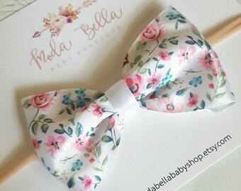 Baby Headband, Baby Bows, Bows, Hair Bows, Hair Accessories, Newborn Headband, Infant Headbands, Baby Girl Headbands, Ribbon Bow