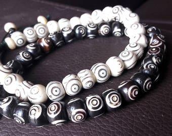 Evil Eye Bracelet - Protection Bracelet, Beaded Bracelet, Vintage Bracelet, Spiritual Bracelet, Protection Jewelry, Evil Eye Jewelry, Beads