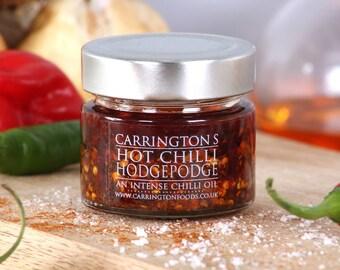 Extremely Hot Naga Chilli Oil, Hot Chilli Hodgepodge, gift for him, gift for her, chilli lover gift