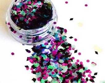 Beautiful Cosmetic Glitter Maleficent