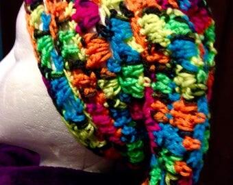 Handmade Crochet Rosta Tam Slouch