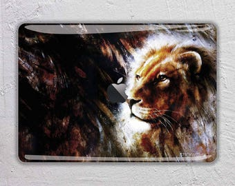 lion macbook skin animal macbook decal Abstract art macbook sticker macbook cover macbook pro skin macbook air 13 decal sticker FSM188