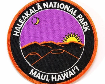 Official Haleakala National Park Souvenir Patch Maui Hawaii Haleakalā Hawai'i Scrapbooking FREE SHIPPING