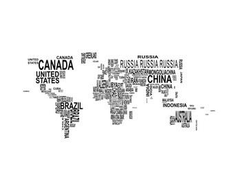 World Map Vector Svg Etsy - Us map vector ai