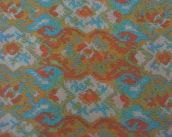 "Vintage Groovy Sheer Fabric, 45"" wide x 3 Yds"