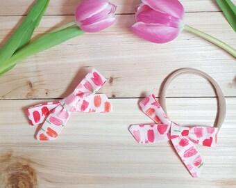 Tulips in Bloom schoolgirl bow
