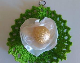 Crochet medals/Medalhas de croché