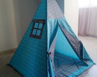 Teepee, childrens teepee,kids teepee,play tent,play house,gift for kids,baby girl,baby boy,baby,tipi,tepe,teepee tent,play tent