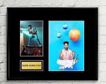 Super Duper Kyle Hip Hop Rapper - Autograph - Signed Poster Art Print Artwork - Grammy Billboard