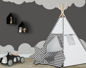 Kid's Teepee Tent SET