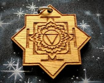 Tara Yantra Talisman / Amulet / Sacred Geometry Pendant