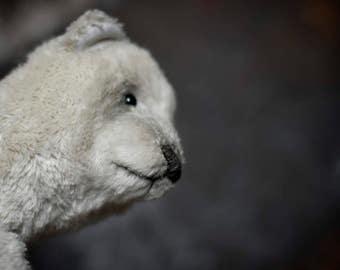 Fraddy... Teddy bear. OOAK teddy bear. Artist bear.