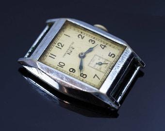 Art Deco Chronometer Rex Mens Wristwatch