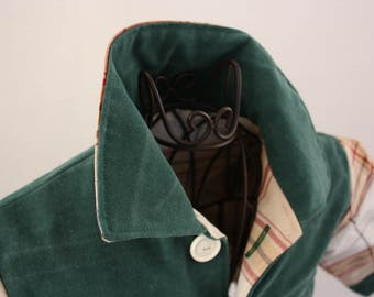 Baby jacket in green, size 68/74