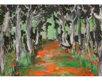 Orange forest / Orange Wood