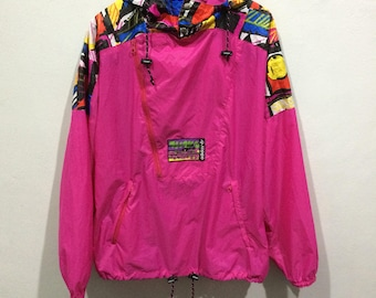 Vintage ADIDAS ventex multicolor windbreaker jacket