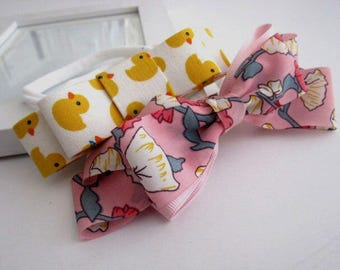 Baby Floral and ugly duckling Headband