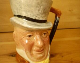 Mr. Micawber Miniature Character Mug Sandland Ware